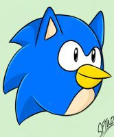 Angry Sonic by SonicForTheWin2