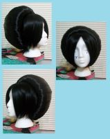 Toph Cosplay Wig WIP by Miss-Star-Bucket