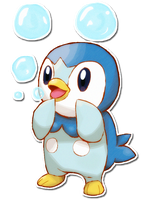 393 Piplup by SarahRichford