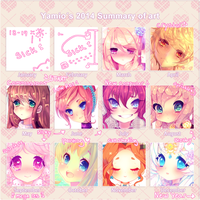 2014 Art Summary by Yamio