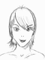 Manga Me - First Scribble by Tail-Fin