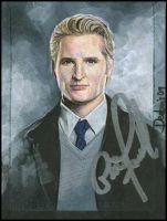 Carlisle Cullen -autographed by DavidDeb