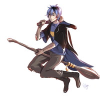 Milo - Quidditch time by MilkyWay-Moe