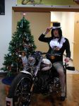 Zatanna Christmas With The Harleys 2 by doctorderanged