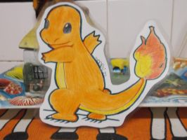 Charmander PaperChild by SkullBooty