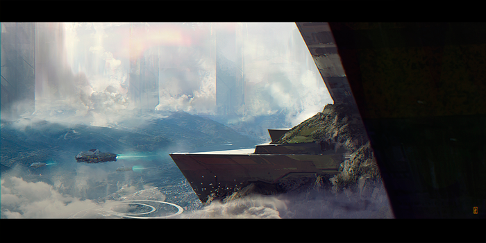 ARRIVAL by donmalo
