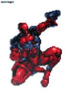 Deadpool Bead Sprite by DrOctoroc