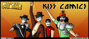 AT4W: KISS Comics by MTC-Studios