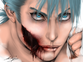 Grimmjow-Zombielook by Anlapis