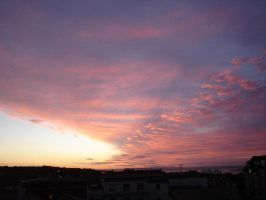 sunrise from my apartment window nr1 by nitro1989