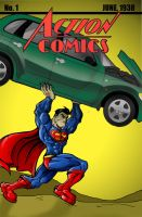 action comics 1 by jamce