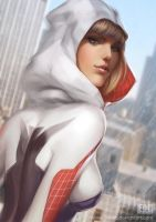 Spider Gwen by WeijiC