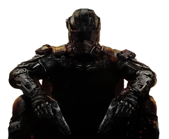 Call of Duty Black Ops 3 Transparent Art Cutout by xAndrew2007x