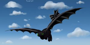 Toothless by VardasTouch