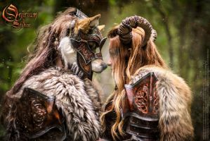 Photoshoot 2015 : Celtic love 2 by Deakath
