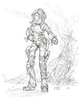 Early Concept - Hitchhiker by musegames