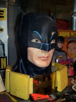 ADAM WEST BUST WITH COWL 2 by supersebas