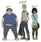 Shop Characters by SaintBree