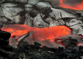 Molten Lava Puddle by shawnstorm