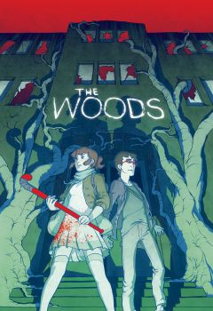 The Woods Variant Cover by spoonbard
