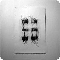 Untitled collagraph 1 by Kitchenbox