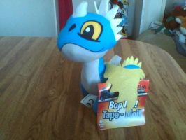 How To Train Your Dragon Nadder Bop-Me Plush by PokeLoveroftheWorld