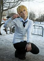 It's unstoppable - Kise Ryota Cosplay by SirFancypantsIV