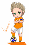 chibi netherlands by angel-athena