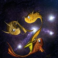Timeless - Horny Fish by MadMooCow
