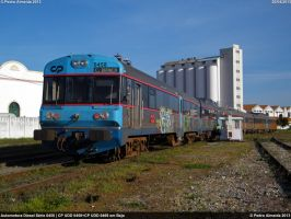 CP UDD 0458+CP UDD 0469 Shunting Beja 200413 by Comboio-Bolt
