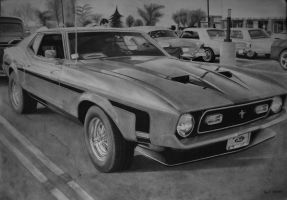 Ford Mustang Mach I - 72' by Polonx