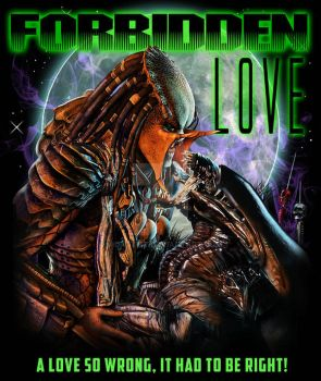 AvP Forbidden Love by vicartist