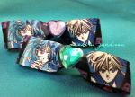 HaruMichi Hair Clips by MichiruPLANET
