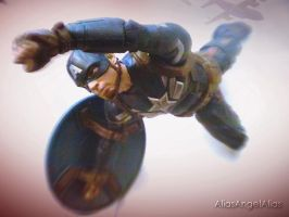 Captain America Without a Parachute Steve Roger by aliasangel2005