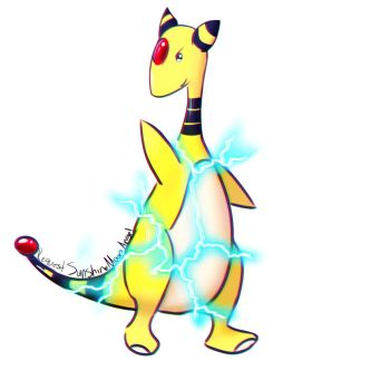 Request: Ampharos by ArousingSoul