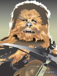 Chewbacca on Endor by eyeqandy