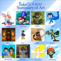 2011 summary by Peeka13