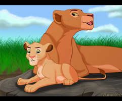 TLK - Mheetu and Nala by RakPolaris