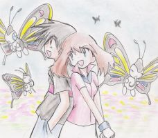 ash and may together 4ever by ashsat