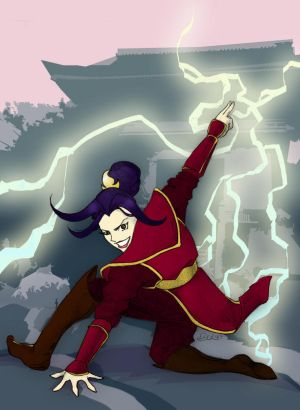 Princess Azula: Lightning Strike by SimplyErika