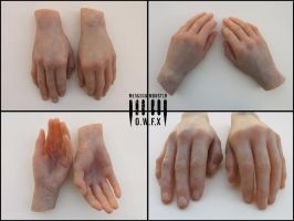 Severed Hands by Meaghan-Monster