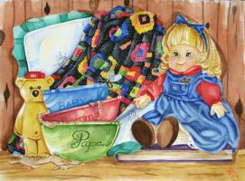 Ode to Goldilocks and 3 Bears by raigenp