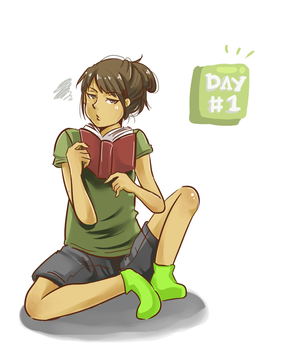 Day 1 by Tiaschi810
