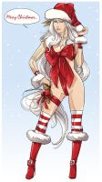 Christmas Feruda White by uger