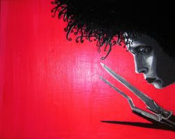 edward scissorhands. by Lemon-Monster