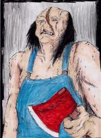 Victor Crowley Again by hewhowalksdeath