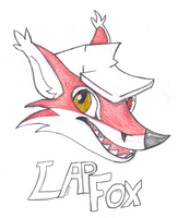 LapFox Logo by FunFerret