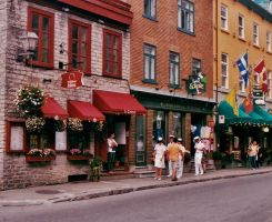 Street In Quebec City by Golden-star-fall