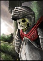 Skeleton Knight by PaulVincent