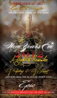 New Year's Eve Party Template by tinachang89